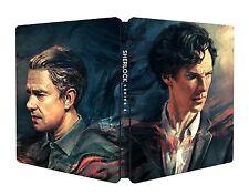 "SHERLOCK: Season / Series 4 - Blu-ray ""Steelbook"" - BBC (Region B) - FACTORY NEW"