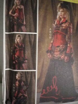 new mccalls 6911 steampunk bolero corset costume cosplay