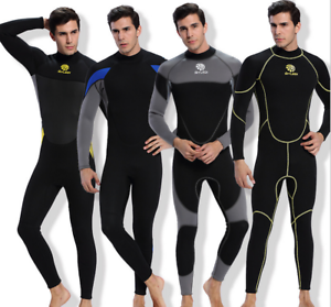 New Men 3MM Neoprene Diving  Suits Free Dive Jump Snorkeling Full Body Wetsuits  great selection & quick delivery