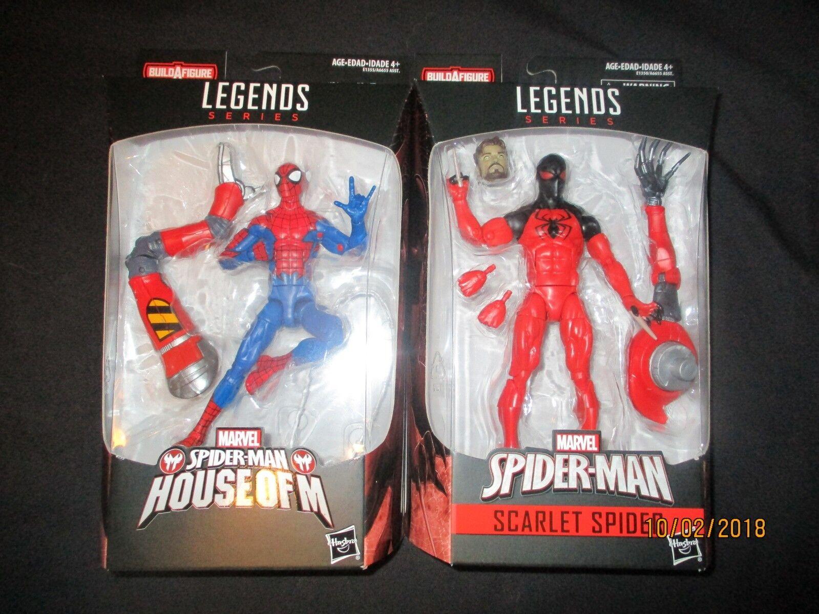 Marvel - legenden amazing spiderman - welle 10 satz 7 mip baf sp   dr. in der hand