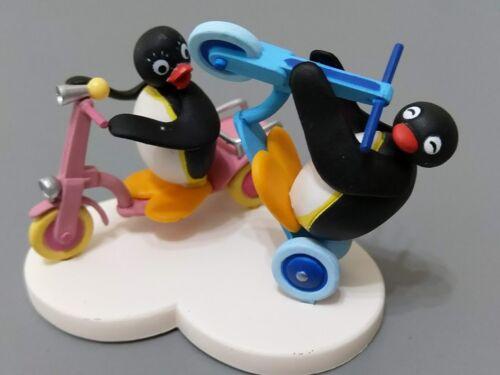 PINGU E IL CICLISMO RARE Set Pygos Pingu ACTION FIGURE SERIE #04
