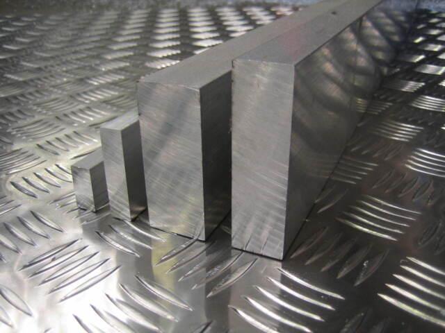 "Aluminium Flat Bar Plate Width 25mm 30mm 40mm 45mm 50mm 60mm  75mm 1"" 1.5"" 2"""