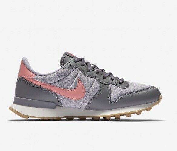 Nike Wmns Internationalist 828407-020 Gunsmoke Corail US US US 8 NEW | Vente