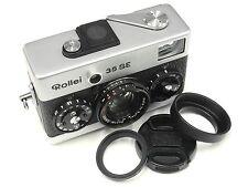 New Lens UV + Cap + Hood for Rollei  35S 35SE BLACK