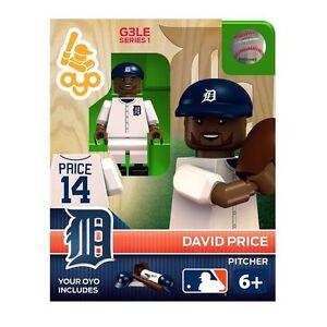8599c306 David Price OYO Detroit Tigers MLB Mini Figure NEW G3 888914003559 ...