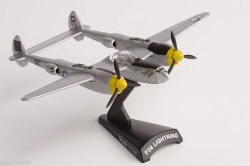 AVI028 Scale 1:115 DIECAST Aviones de Combate Delprado P38 LIGHTNING