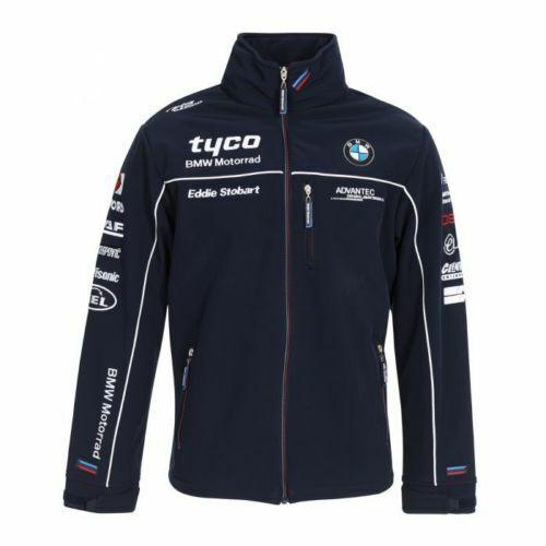 18TB AJ1 Official TAS Racing Tyco BMW Team Soft-shell Jacket