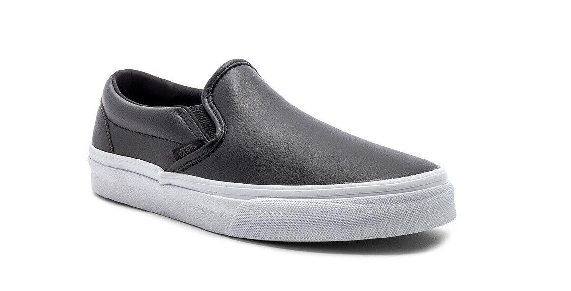 NWOB Men's Vans Era Classic  Tumble Black  VN0A38F7P30 shoes