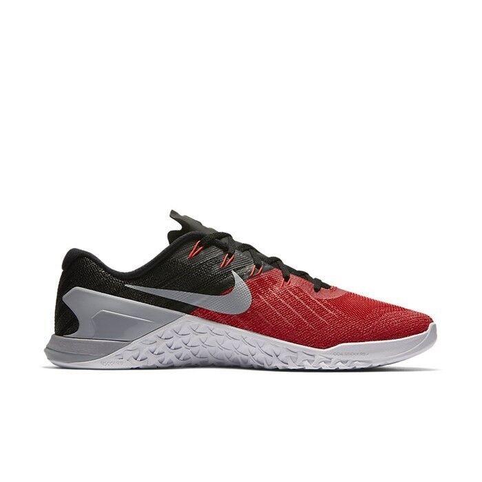 Nike metcon - 3 universität rot - metcon schwarz - weiße, graue größe. 91b105
