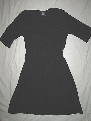 New Jw $98 Sz S Small Maternity Womens Black Side Tie Adjustable Dress Rn91973 In Short Supply Maternity Dresses