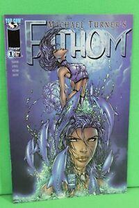Fathom #1 Michael Turner Top Cow Image Comic Comics F/F+