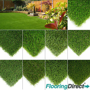 Astro Turf Garden >> Details About Clearance Luxury Artificial Grass Astro Turf Realistic Fake Lawn Green Garden