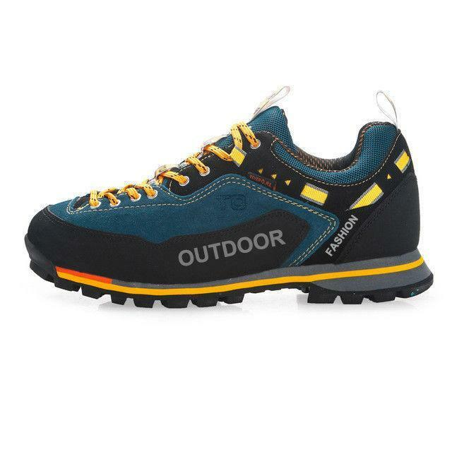 Waterproof Men's Hiking shoes Outdoor Trekking Climbing Sports Sneakers 2019 SZ