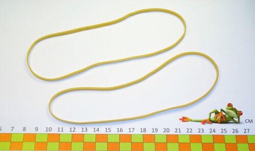 Ø115 x3;x5;x10 mm x 1.7 mm- sac de 1 kg Elastique Caoutchouc- Blond- 180