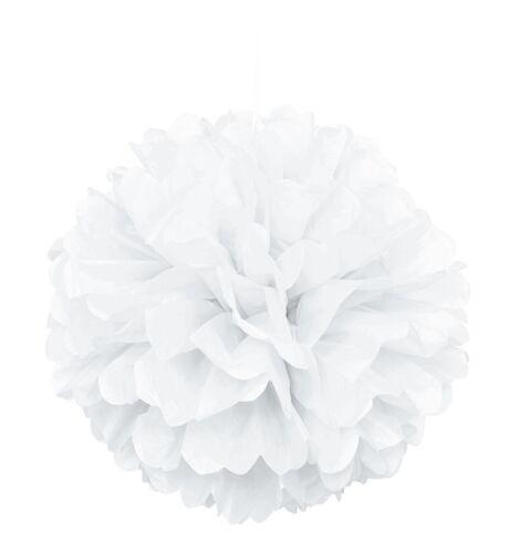 célébration Balle blanche feuilletéepapier partie mariage décoration suspendus