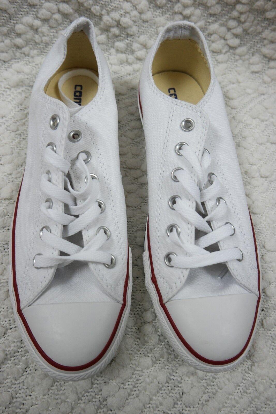 CONVERSE ALL STAR STAR STAR ox optic white canvas athletic scarpe da ginnastica Uomo 8/Donna 10 BNIB 79c5b6