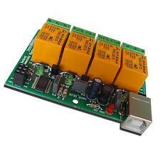 USB-Relaiskarte mit 4 Relais für Automation
