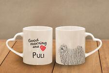 "Puli - ein Becher ""Good Morning and love, heart"" Subli Dog, AT"