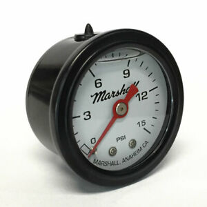Marshall-1-5-034-Direct-Mount-Filled-Fuel-Pressure-Gauge-White-Dial-CWB00015