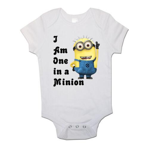 1 In Ein Diener Lustig Personalisiert Baby//Kleinkind Weste Neugeborenes Body//