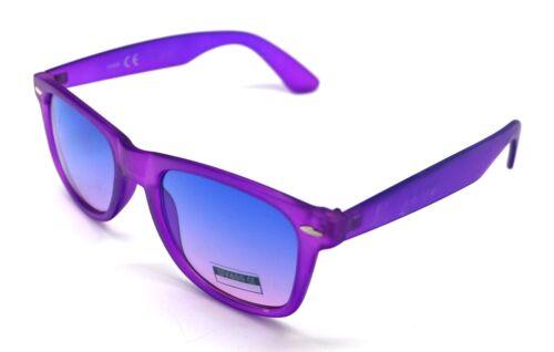 PT Sunglasses Man Woman UV 400 Mirror Wayfare Translucent Purple