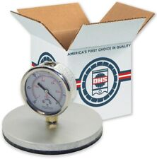 2 3 4 Water Amp Trash Pump Suction Test Gauge Heavy Duty Replaces 700536 28755