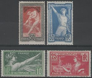FRANCE-STAMP-TIMBRE-183-186-034-JEUX-OLYMPIQUES-PARIS-1924-034-NEUFS-xx-LUXE-K184B