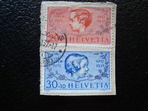 Switzerland-Stamp-Yvert-Tellier-N-305-306-Cancelled-A39