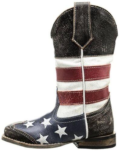 Toddler//Little- Pick SZ//Color. Roper Kids  Square Toe Americana Western Boot