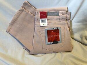 Gloria-Vanderbilt-CLASSIC-Stretch-Jeans-Pink-Denim-Womens-Size-10-NEW-NWT