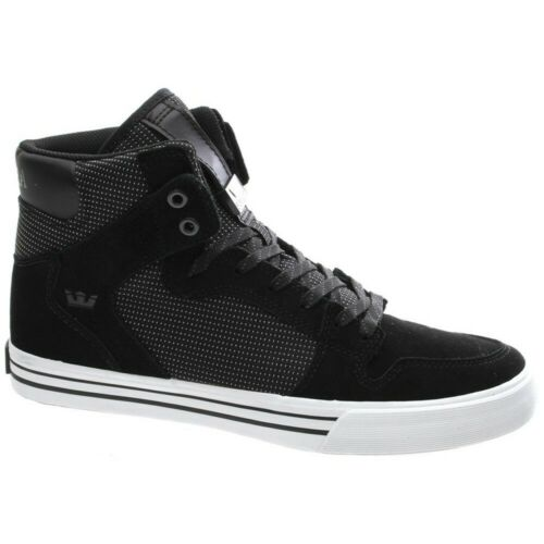 Supra Vaider Black//White Shoe