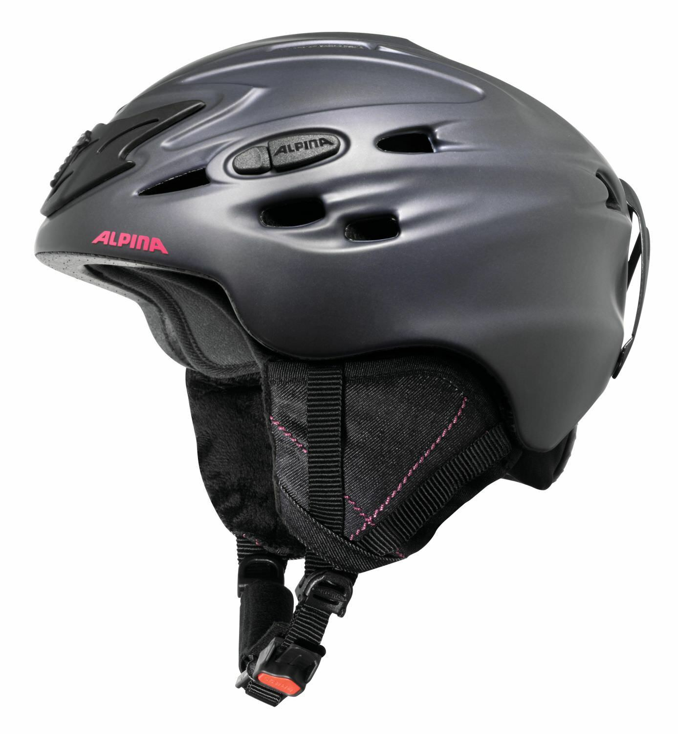 Alpina women Casco de Esquí Ski Helmet Scara Nightbluee-Denim Mate