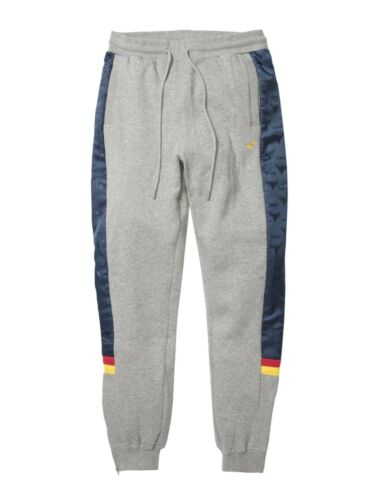 Staple Pigeon Lux Sport Logo Sweatpants 1810B5074 Heather Grey 2018 WithTags
