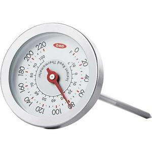 6 Pk Oxo Chefs Instant Read Kitchen Cooking Candy Meat Thermometer