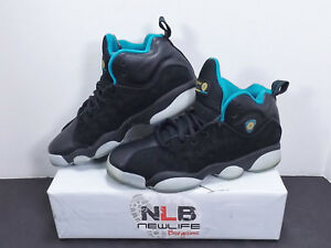 ea14b774362 Nike Air Jordan Jumpman Team Pro II 874749-003 Black/Teal/Gold Youth ...