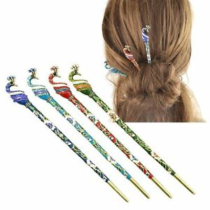 Image Is Loading Women 039 S Ethnic Pea Shape Hair Chopsticks