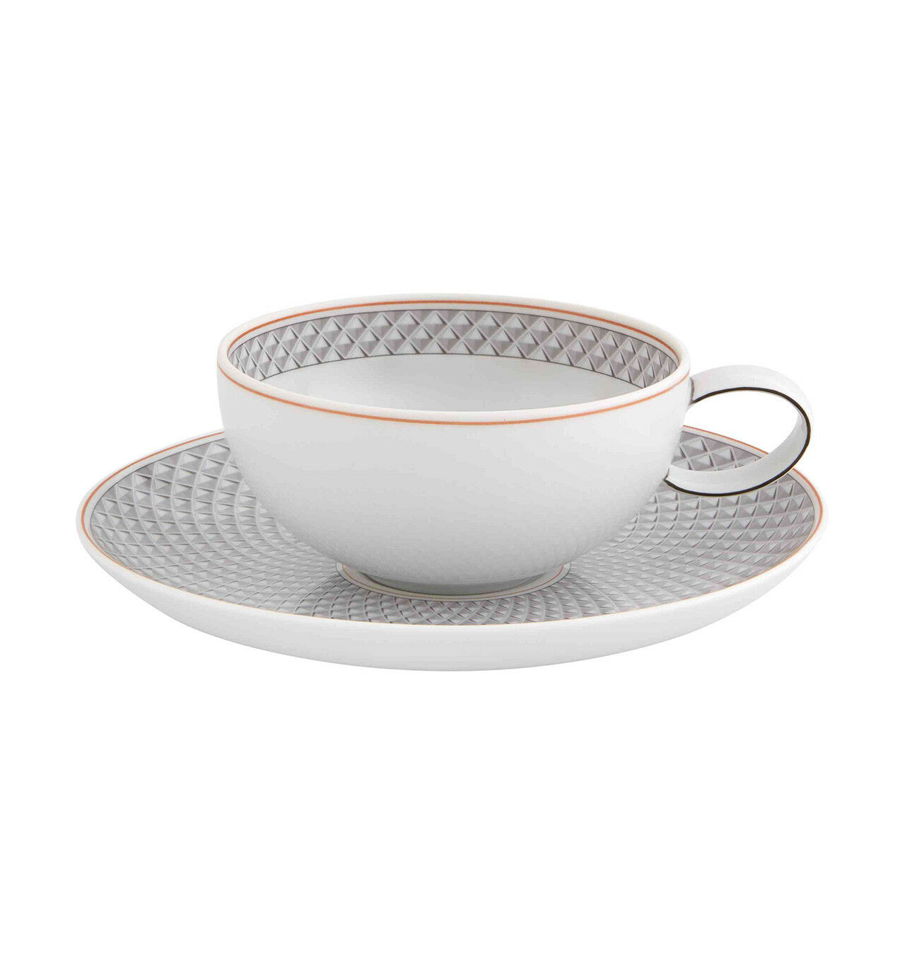 Vista Alegre Maya Tea cup & saucer - Set of 8