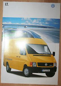 """Rare Catalogue Volkswagen LT - France- 05/97 - 20p - France - État : Occasion : Objet ayant été utilisé. Consulter la description du vendeur pour avoir plus de détails sur les éventuelles imperfections. Commentaires du vendeur : """"Excellent état"""" - France"""