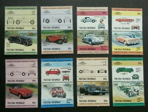 Tuvalu-Classic-Racing-Cars-1984-Vintage-Old-Time-Automobile-Vehicle-stamp-MNH