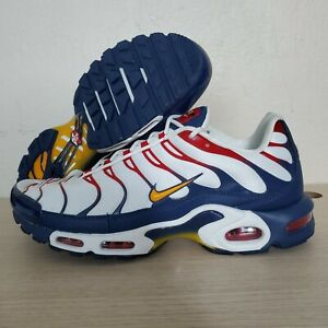 Details about Nike Air Max Plus TN Nautical Pack Sail University Gold Size 14 ( AR5400 100 )