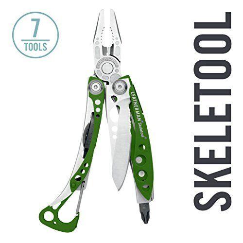 NEW Leatherman Skeletool Multi-Tool, Green