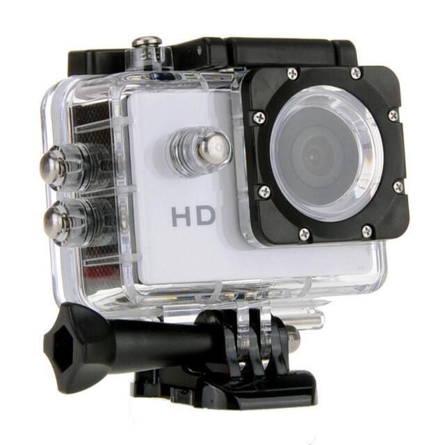 "White SJ4000 5MP HD 720P 1.5"" TFT Sport DV Action Camera Camcorder for Gopro"