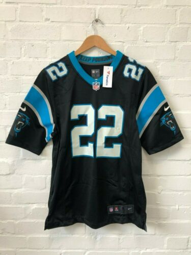 McCaffrey 22 Large New Nike Carolina Panthers NFL Men/'s Home Jersey