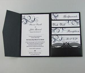 Wedding Invitations Diy Pocket