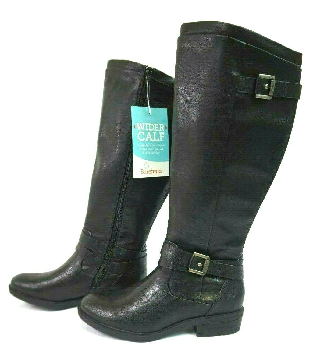 NIB Bare Traps Women's Black Yalina 2 Riding Boots 5.5, 9.5, 10