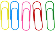 Gca 4 Inch Large Paper Clips25 Pcs Jumbo Paper Clips Vinyl Coated Giant For