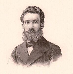 Portrait-Francois-Victor-Foveau-de-Courmelles-Electrotherapie-Electricite