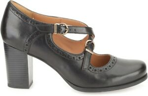 77c8a81e09ef25 Clarks BNIB Ladies Mary Jane Shoes Ciera Sea Black Leather UK 5.5 ...