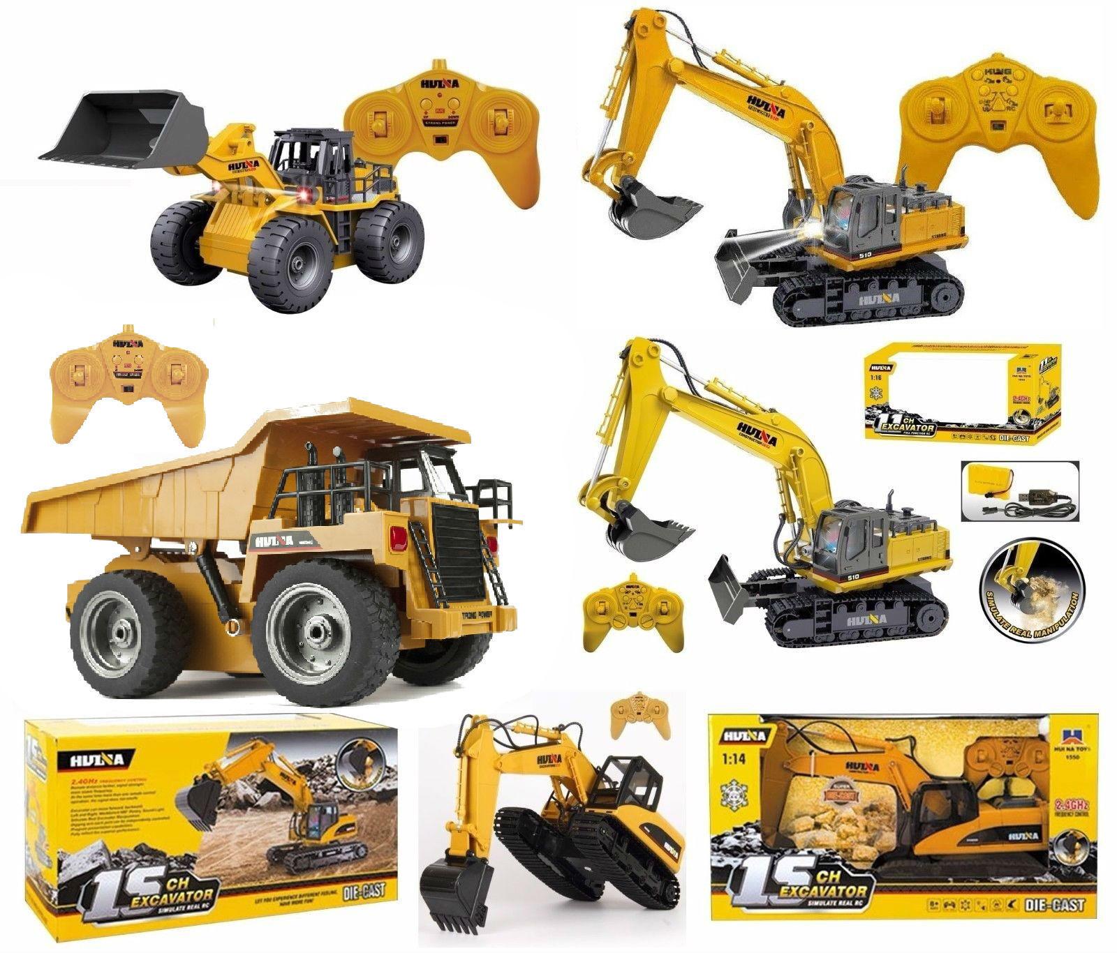 Nuovo Radiocomandato Industriale Veicoli Camion Escavatore 6 - 15 Canale