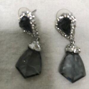 Image Is Loading Alexis Bittar Miss Havisham Earrings With Crystals